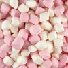 20x200GM MINI MARSHMALLOWS PINK&WHITE